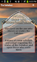 Screenshot of Sahabas (companions) - A to Z