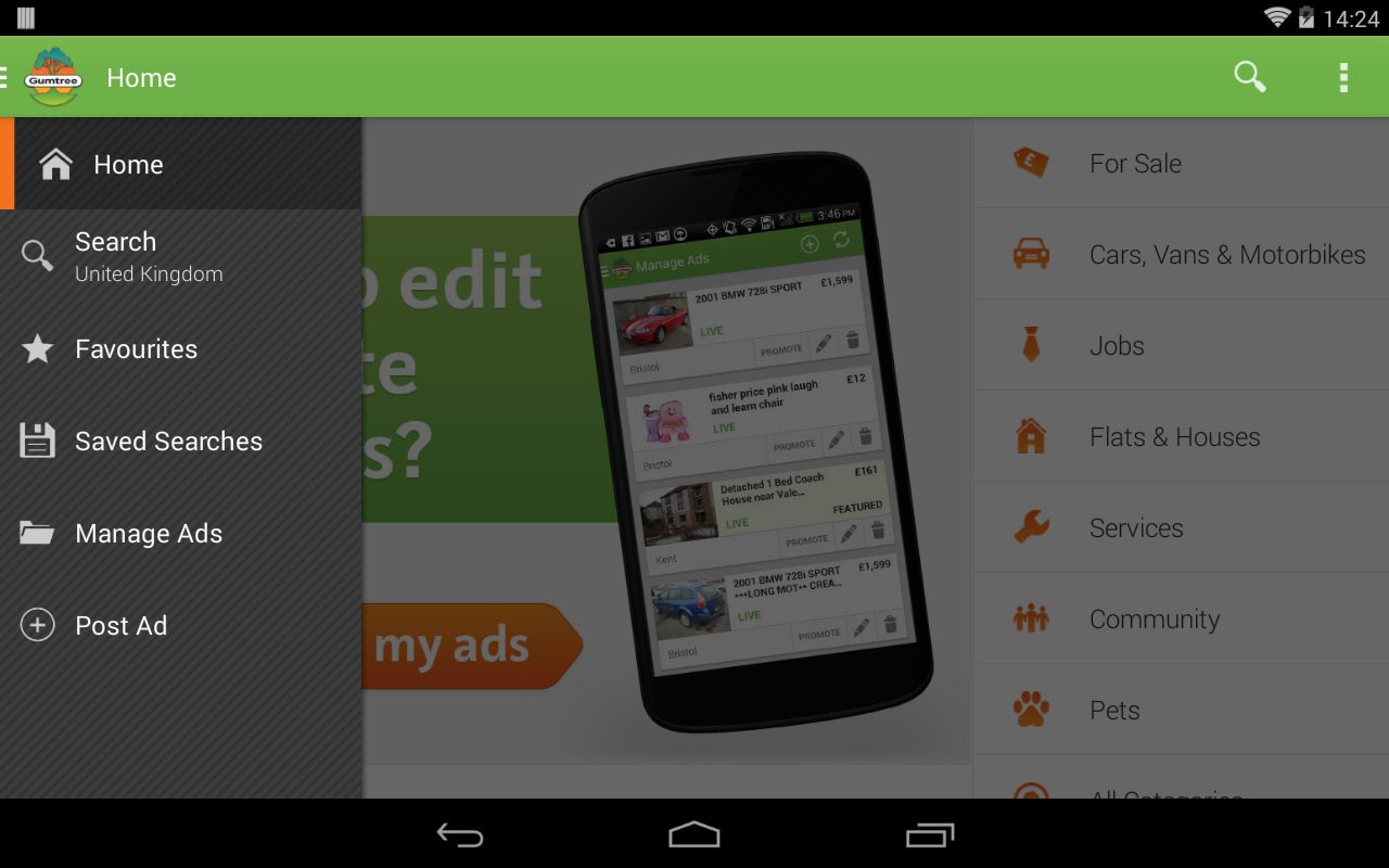 Gumtree - screenshot
