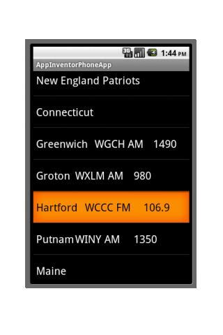 New England Football Radio