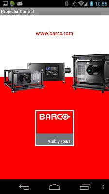 Barco Projector Control - screenshot