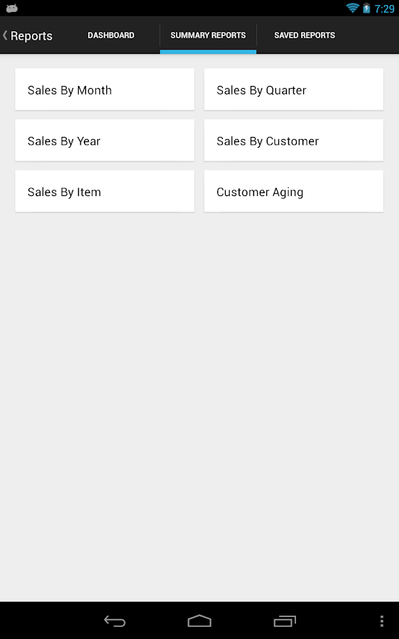 MobileBiz Lite - invoice App - screenshot