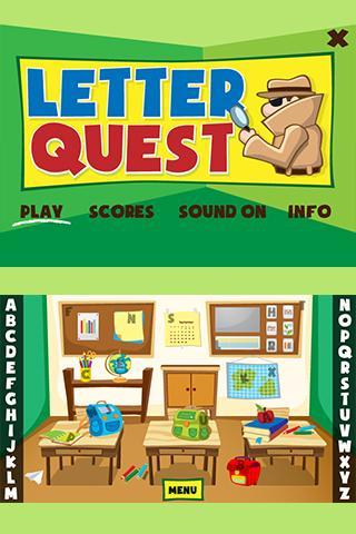 Letter Quest - screenshot