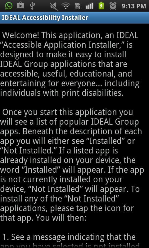 IDEAL Access 4 Other Carriers® - screenshot