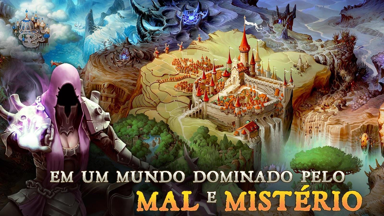 Dungeon Hunter 5– captura de ecrã