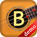 Bass Guitar Note Trainer Demo icon