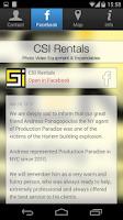 Screenshot of CSI Rentals NYC