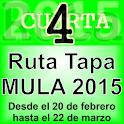 4ª Ruta de la Tapa Mula. 2015