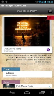 iLandGuide Koh Phangan- screenshot thumbnail
