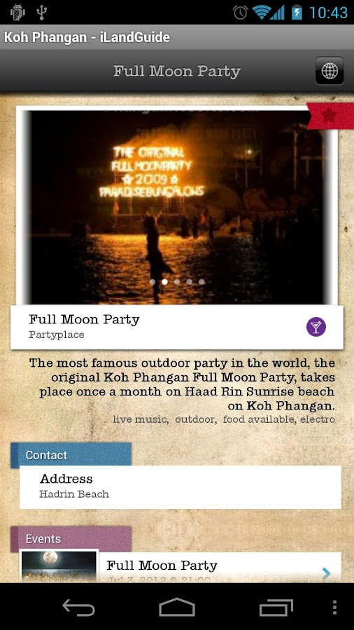 iLandGuide Koh Phangan- screenshot