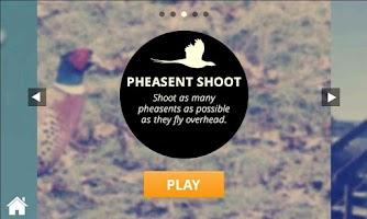 Screenshot of Clay Shooting