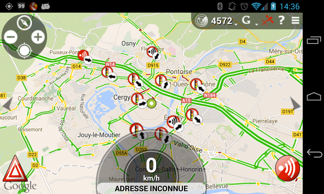 Glob - GPS, Traffic & Radar - screenshot
