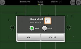 Screenshot of GameDay Stats - Lacrosse