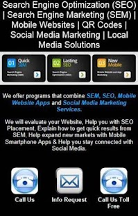 SEO SEM Local Media Solutions- screenshot thumbnail