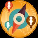 Locator Where Are We Track icon