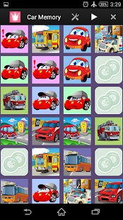 Cars Memory for Kids