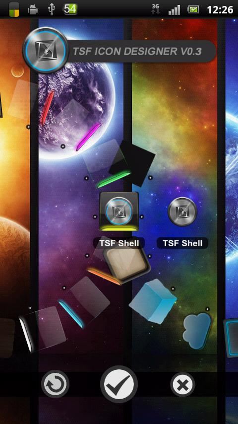 Custom Pack HD TSF Shell Theme - screenshot