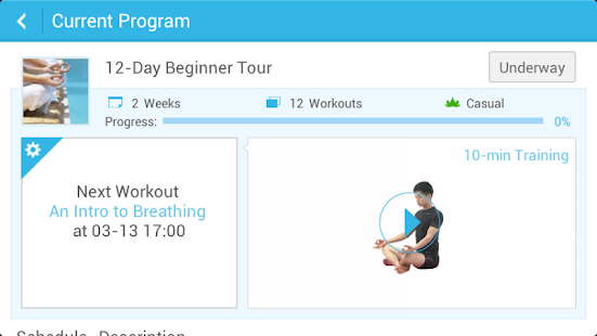 Daily Yoga - screenshot thumbnail