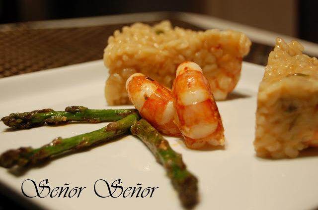 Wild Asparagus and Shrimp Risotto Recipe