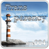 Transparency Go Launcher theme
