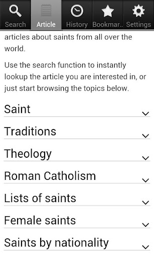 Saints Encyclopedia