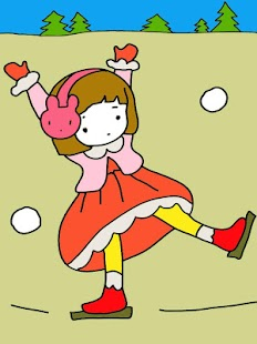 Coloring Book: Sweet Doll