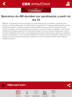 CBN Amazônia- screenshot thumbnail