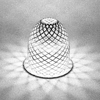 Hyperboloid Candle or Lamp
