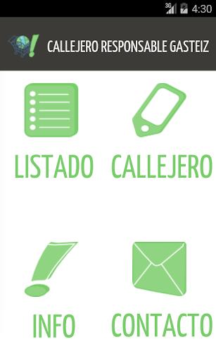 Callejero Responsable Gasteiz