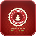 Red Christmas Go launcher icon