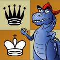 Learn Chess: Dinosaur Chess! icon