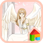 to girl my angel dodol theme
