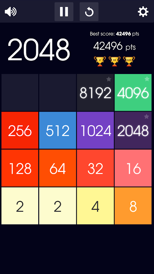 2048 Tile- screenshot