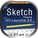 Sketch - GO Launcher Theme icon