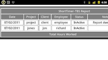 Screenshot of Short Timer-TBS Pro