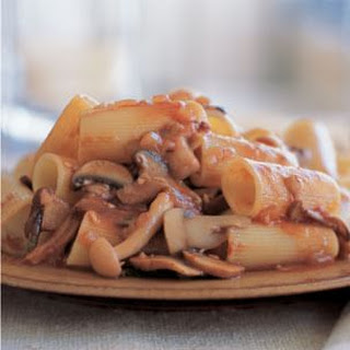 Rigatoni with Mushroom Ragù