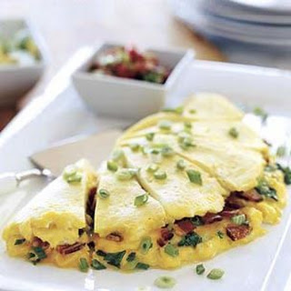 Bacon and Cheddar Omelette for Six Recipe