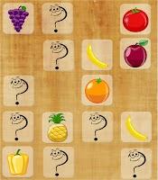 Screenshot of Match Up Fruits