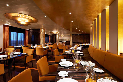 Carnival-Breeze-Fahrenheit-555 - Make reservations at Fahrenheit 555, a classy steakhouse, during your Carnival Breeze sailing. Cost is a $35 per person surcharge.
