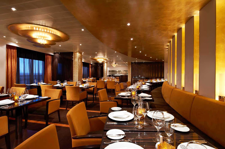 Make reservations at Fahrenheit 555, a classy steakhouse, during your Carnival Breeze sailing. Cost is a $35 per person surcharge.