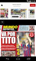 Screenshot of MUNDO DEPORTIVO ED. IMPRESA