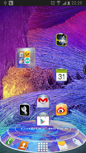 Galaxy Note4 Next 3D Theme
