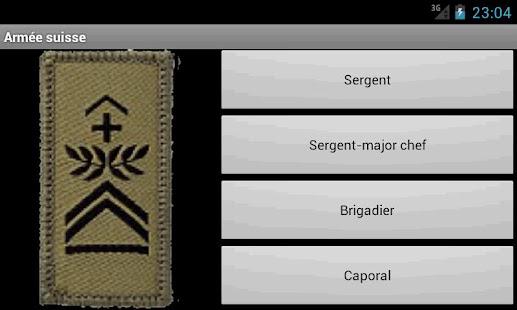 Schweizer Armee Dienstgrade- screenshot thumbnail