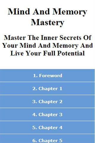 Improve Your Mind And Memory