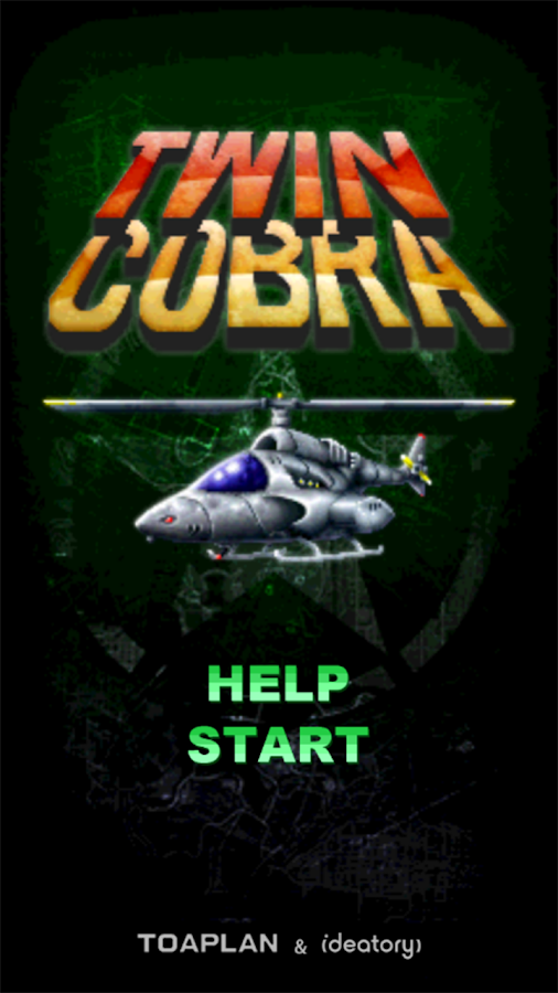 Twin Cobra Free- screenshot