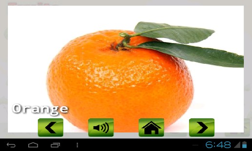 Fruit veg shape color for kids - screenshot thumbnail
