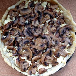 Truffle Mushroom Ricotta Tart.