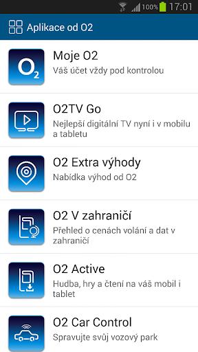 Aplikace od O2