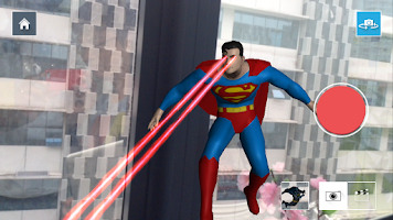 Screenshot of FLY WITH SUPER HEROES