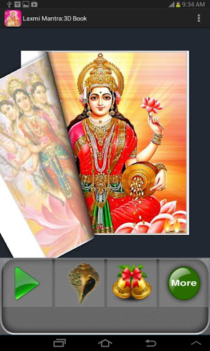 Laxmi Mantra : 3D Book