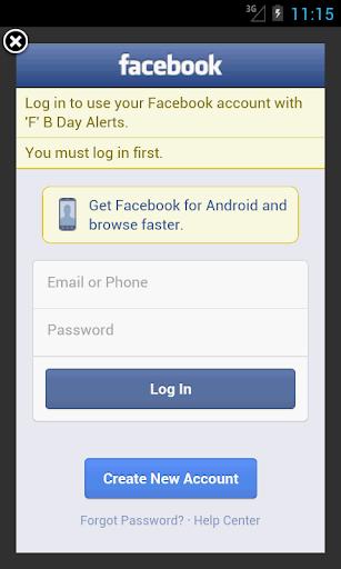 【免費社交App】FBBirthdayAlerts-APP點子
